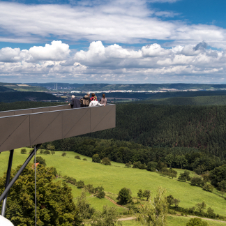 Leuchtenburg Skywalk