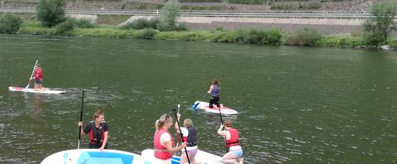 Stand Up Paddling Mosel