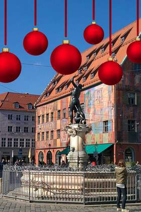 Weihnachtsfeier in Augsburg und Umgebung