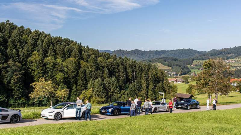 Black forest, driving experience, luxury travel in sports cars, Incentiveprogramm, Automotive Events