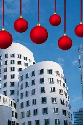 Weihnachtsfeier in Düsseldorf und Umgebung