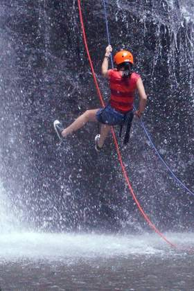 Firmenevent mit Canyoning