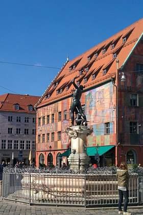 Betriebsausflug in Augsburg und Umgebung