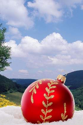Weihnachtsfeier im Sauerland