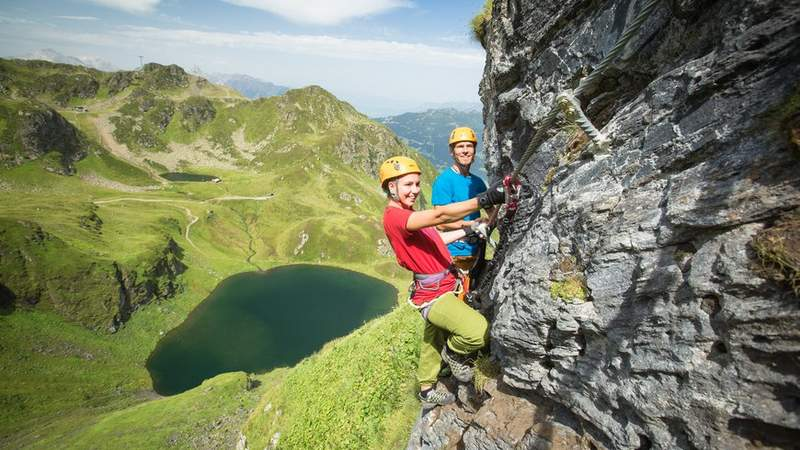 Klettersteig-Tour Teamevent