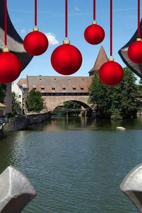 Weihnachtsfeier in Nürnberg und Umgebung