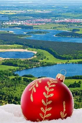 Weihnachtsfeier an der Mecklenburgischen Seenplatte