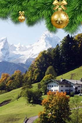 Weihnachtsfeier in Bayern