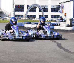Kart-Race im Hamburger Umland