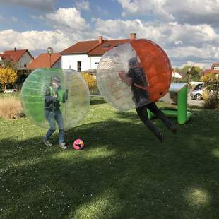 Bubble Ball zum Teamevent