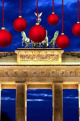 Weihnachtsfeier in Berlin