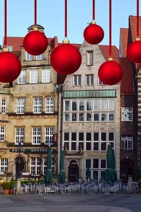 Weihnachtsfeier in Bremen