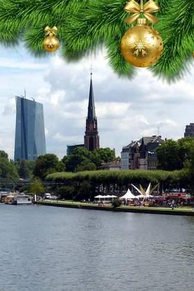 Weihnachtsfeier in Hessen