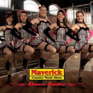 Can Can Tanzshow mit Maverick Dance Ladies