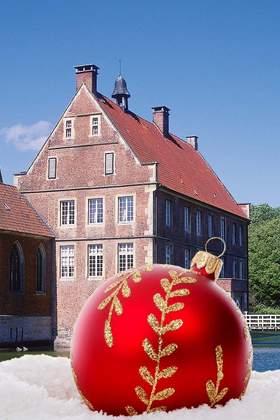 Weihnachtsfeier im Münsterland