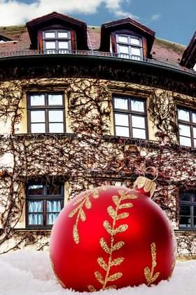 Weihnachtsfeier in Mittelfranken - Taubertal - Hassberge