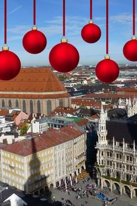 Weihnachtsfeier in München und Umgebung