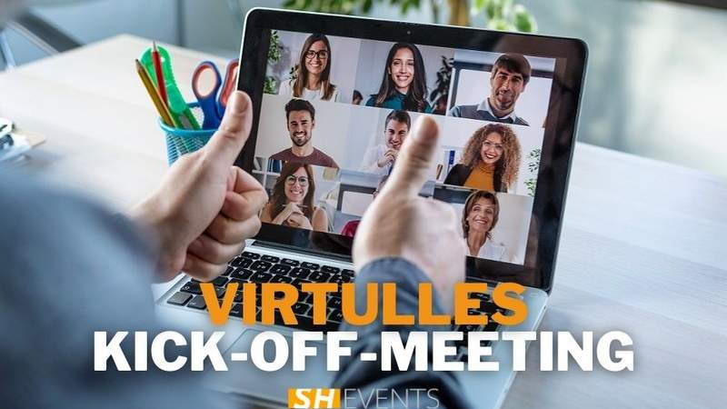 VIRTUELLES KICK-OFF-MEETING
