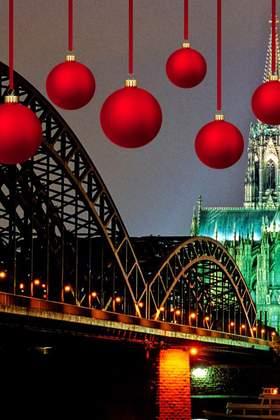 Weihnachtsfeier in Köln
