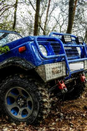 Firmenevent mit Offroad Action