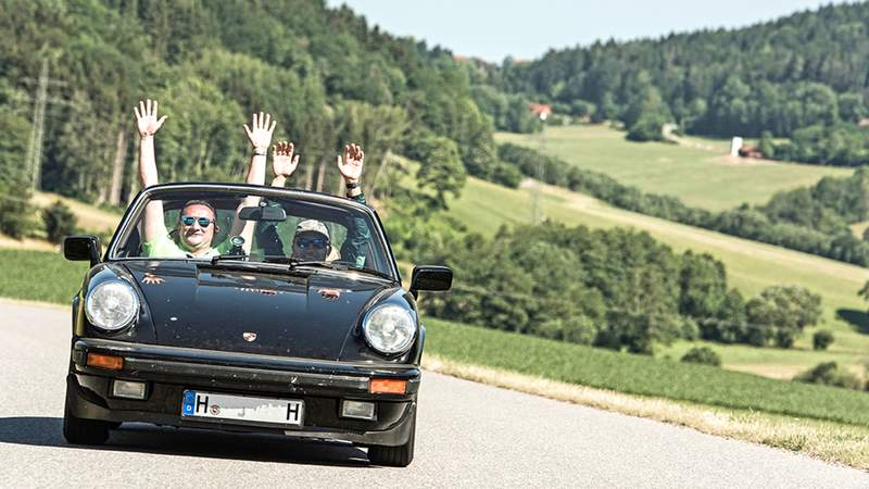 Porsche Training in Bayern