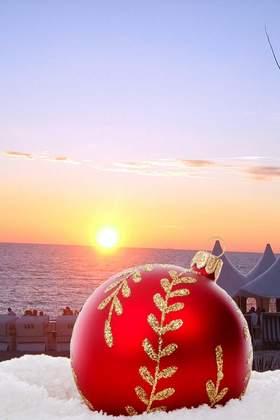 Weihnachtsfeier an der Nordsee - Nordfriesland