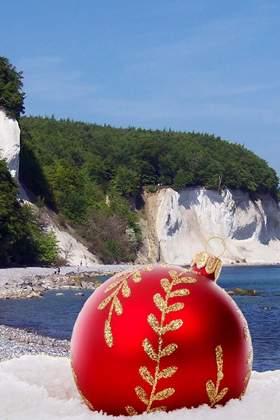Weihnachtsfeier an der Mecklenburgischen Ostee - Rügen