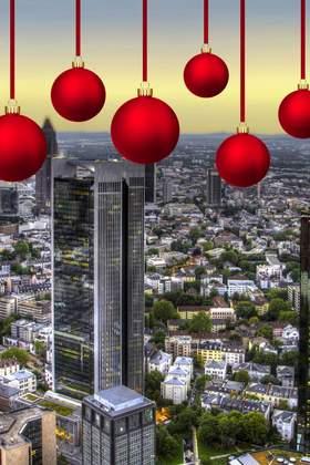 Weihnachtsfeier in Frankfurt am Main und Umgebung
