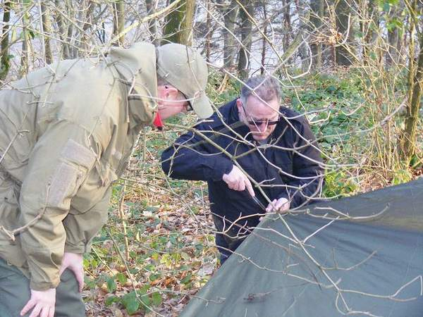 Teamevent: Bushcraft/Survivaltraining