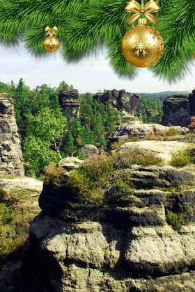 Weihnachtsfeier in Sachsen