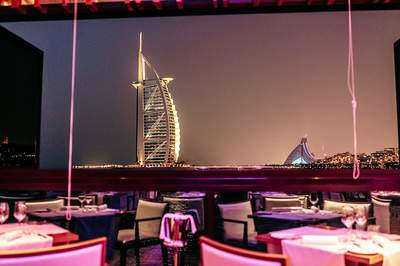 Restaurant Pierchic in Dubai